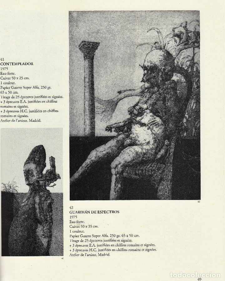 Libros de segunda mano: JOSÉ HERNÁNDEZ OBRA GRÁFICA COMPLETA 1967 1996 CATÁLOGO RAZONADO DEDICADO Y FIRMADO A MANO MUY RARO - Foto 17 - 140591754