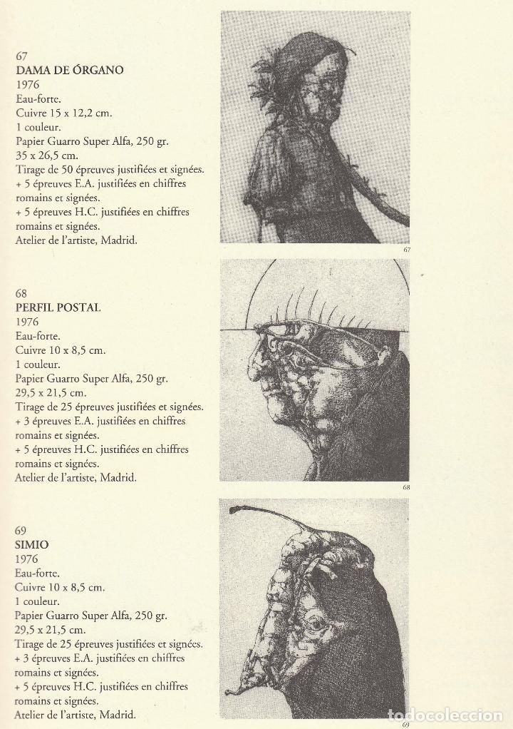 Libros de segunda mano: JOSÉ HERNÁNDEZ OBRA GRÁFICA COMPLETA 1967 1996 CATÁLOGO RAZONADO DEDICADO Y FIRMADO A MANO MUY RARO - Foto 21 - 140591754