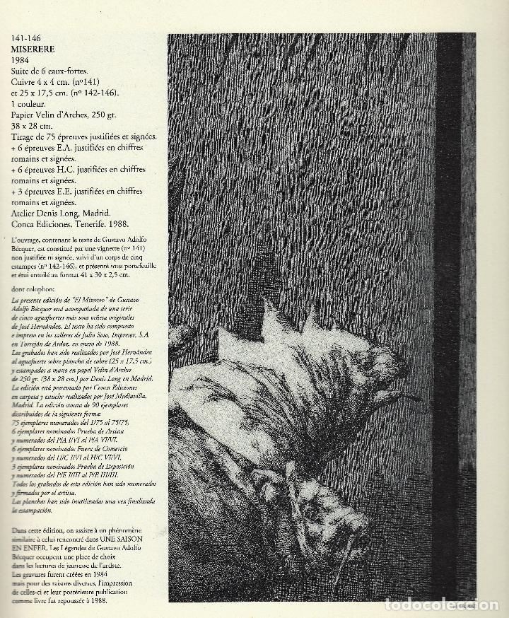 Libros de segunda mano: JOSÉ HERNÁNDEZ OBRA GRÁFICA COMPLETA 1967 1996 CATÁLOGO RAZONADO DEDICADO Y FIRMADO A MANO MUY RARO - Foto 26 - 140591754