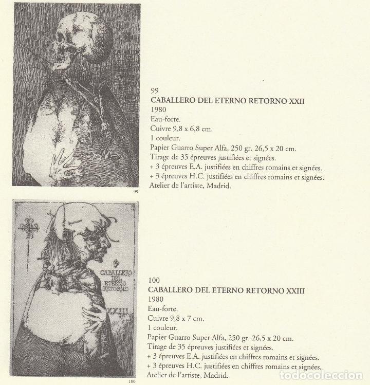Libros de segunda mano: JOSÉ HERNÁNDEZ OBRA GRÁFICA COMPLETA 1967 1996 CATÁLOGO RAZONADO DEDICADO Y FIRMADO A MANO MUY RARO - Foto 27 - 140591754