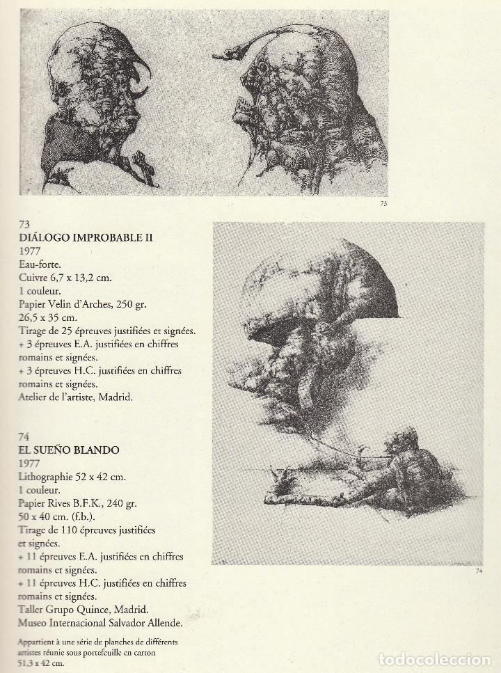 Libros de segunda mano: JOSÉ HERNÁNDEZ OBRA GRÁFICA COMPLETA 1967 1996 CATÁLOGO RAZONADO DEDICADO Y FIRMADO A MANO MUY RARO - Foto 33 - 140591754