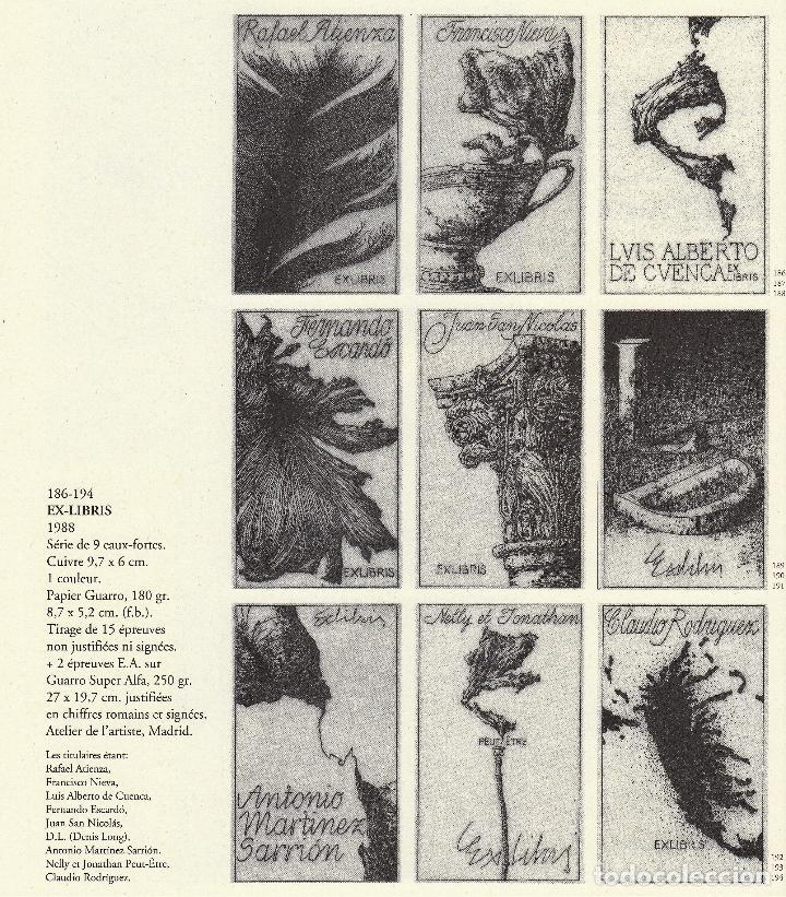 Libros de segunda mano: JOSÉ HERNÁNDEZ OBRA GRÁFICA COMPLETA 1967 1996 CATÁLOGO RAZONADO DEDICADO Y FIRMADO A MANO MUY RARO - Foto 34 - 140591754