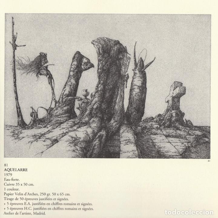 Libros de segunda mano: JOSÉ HERNÁNDEZ OBRA GRÁFICA COMPLETA 1967 1996 CATÁLOGO RAZONADO DEDICADO Y FIRMADO A MANO MUY RARO - Foto 35 - 140591754