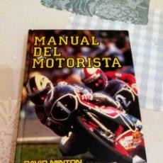 Libros de segunda mano: MANUAL DEL MOTORISTA.MANUALES EVEREST. Lote 140609728