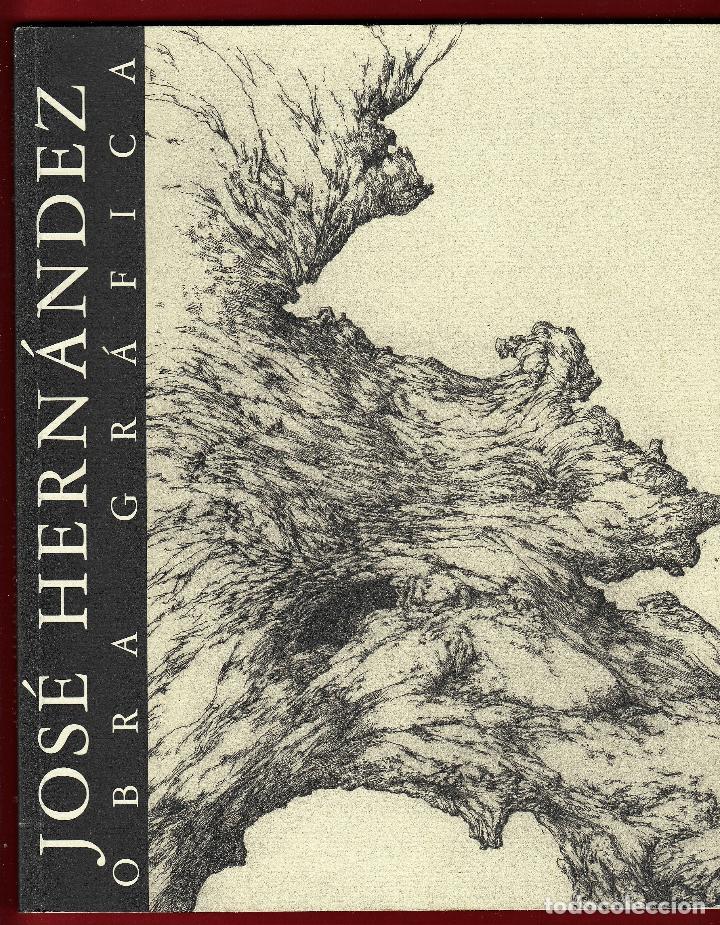 JOSÉ HERNÁNDEZ OBRA GRÁFICA EXPOSICIÓN VILLENA 2004 DEDICADO Y FIRMADO A MANO POR JOSÉ HERNÁNDEZ (Libros de Segunda Mano - Bellas artes, ocio y coleccionismo - Otros)