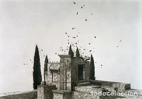 Libros de segunda mano: JOSÉ HERNÁNDEZ OBRA GRÁFICA EXPOSICIÓN VILLENA 2004 DEDICADO Y FIRMADO A MANO POR JOSÉ HERNÁNDEZ - Foto 8 - 140636962