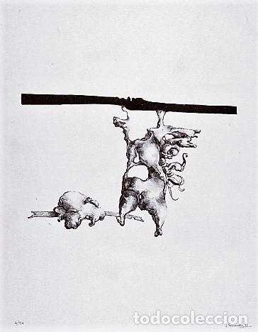 Libros de segunda mano: JOSÉ HERNÁNDEZ OBRA GRÁFICA EXPOSICIÓN VILLENA 2004 DEDICADO Y FIRMADO A MANO POR JOSÉ HERNÁNDEZ - Foto 21 - 140636962