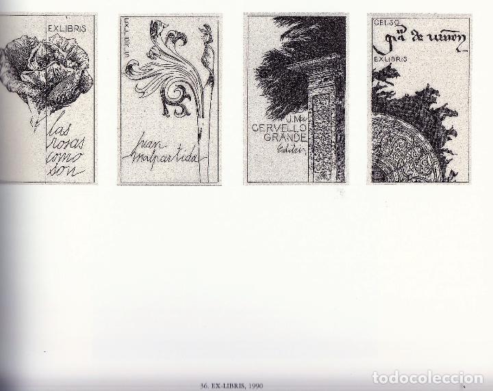 Libros de segunda mano: JOSÉ HERNÁNDEZ OBRA GRÁFICA EXPOSICIÓN VILLENA 2004 DEDICADO Y FIRMADO A MANO POR JOSÉ HERNÁNDEZ - Foto 29 - 140636962