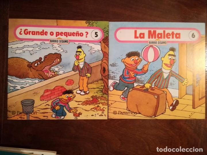 Libros de segunda mano: Espinete 5 CUENTOS Barrio Sesamo Parramón nº 1-2-3-5-6 nuevo - Foto 3 - 106679463