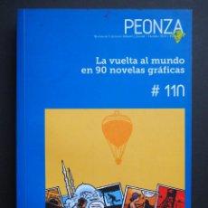 Livres d'occasion: LA VUELTA AL MUNDO EN 90 NOVELAS GRÁFICAS. PEONZA. OCTUBRE DE 2014. Lote 140773290