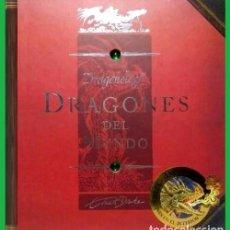 Libros de segunda mano: B1485 - DRAGONOLOGY. DRAGONES DEL MUNDO. ERNEST DRAKE. CON 12 REPRODUCCIONES DE DRAGONES. 2008.. Lote 140790422