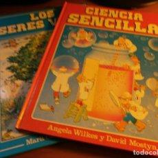 Libros de segunda mano: CIENCIA SENCILLA Y LOS SERES VIVOS - EDT. PLAZA JOVEN, 1986.. Lote 140831246