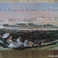 Libros de segunda mano: LIBRO LOS PLANOS DE MADRID Y SU ÉPOCA - 1622-1992 - MUSEO DE LA CIUDAD - MUCHOS PLANOS ILUSTRACIONES. Lote 140885134