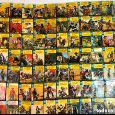 Libros de segunda mano: LOTE DE 138 MINILIBROS BRUGUERA DE LA SERIE OESTE. LOTE DE 138 MINILIBROS BRUGUERA DE LA SERIE OES. Lote 140894706