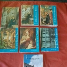 Libros de segunda mano: LOTE EL ARTE SACRO EN PALENCIA - ÁNGEL SANCHO CAMPO. Lote 140895970