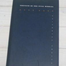 Libros de segunda mano: PROYECTO DE UNA ÉTICA MUNDIAL - HANS KUNG. Lote 140927678