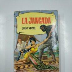 Libros de segunda mano: LA JANGADA. JULIO VERNE. COLECCION HISTORIAS Nº 198. EDITORIAL BRUGUERA. TDK104. Lote 140966618