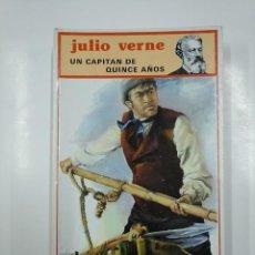 Libros de segunda mano: UN CAPITAN DE QUINCE AÑOS. JULIO VERNE. EDITORIAL MOLINO. TDK105. Lote 140967602
