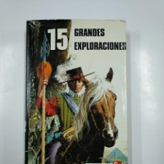 Libros de segunda mano: 15 GRANDES EXPLORACIONES. COLECCION HISTORIAS. EDITORIAL PUBLICACION FHER. TDK73. Lote 140991290