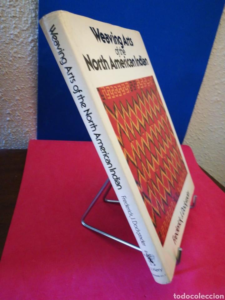 Libros de segunda mano: Weaving arts of the North American Indian - Artes tejeduría indios Norteamérica (inglés) - Kery,1978 - Foto 2 - 141033945