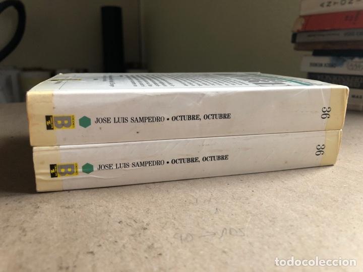 Libros de segunda mano: OCTUBRE OCTUBRE. JOSÉ LUIS SAMPEDRO. EDICIONES B, 1987. 2 TOMOS. - Foto 14 - 141087265