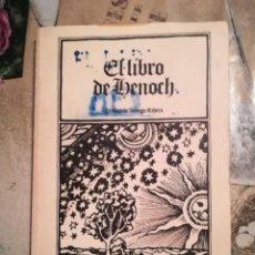 Libros de segunda mano: EL LIBRO DE HENOCH - PRÓLOGO DE ANTONIO RIBERA. Lote 141106206