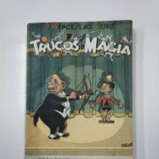 Libros de segunda mano: TRUCOS DE MAGIA. P. WENCESLAO CIURO. 1957. TDK50. Lote 141112298