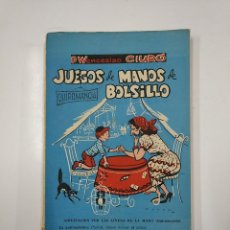 Libros de segunda mano: JUEGOS DE MANOS DE BOLSILLO. P. WENCESLAO CIURO. LING KAI FU. TOMO II. 1961. TDK50. Lote 141112838