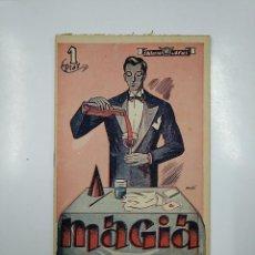 Libros de segunda mano: MAGIA. EDUARDO WIEDERKEHR. -EDISTON-. COLECCION ALAS Nº 26. EDITORIAL ALAS. TDK45. Lote 141130266
