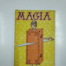 Libros de segunda mano: MAGIA. COLECCIÓN FANTASÍAS. Nº NÚM 3. EDITORIAL ALAS. TDK45. Lote 141130794