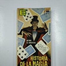 Libros de segunda mano: HISTORIA DE LA MAGIA. ANTONIO ARMENTERAS. EDICIONES GP. ENCICLOPEDIA POPULAR ILUSTRADA. TDK45. Lote 141130942