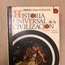 Libros de segunda mano: HISTORIA UNIVERSAL DE LA CIVILIZACIÓN. RICARDO VERA TORNELL. ED. RAMÓN SOPENA 1976.. Lote 141228641