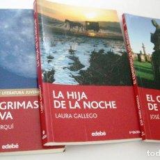 Libros de segunda mano: 3 LIBROS JUVENILES. Lote 141266898