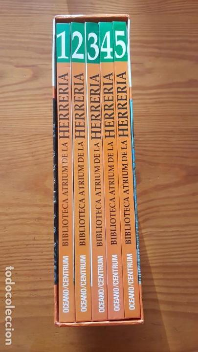Libros de segunda mano: Biblioteca atrium de la herrería, 5 Tomos (Obra Completa). EN PERFECTO ESTADO DE CONSERVACIÓN. - Foto 3 - 141279714