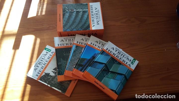 BIBLIOTECA ATRIUM DE LA HERRERÍA, 5 TOMOS (OBRA COMPLETA). EN PERFECTO ESTADO DE CONSERVACIÓN. (Libros de Segunda Mano - Bellas artes, ocio y coleccionismo - Otros)