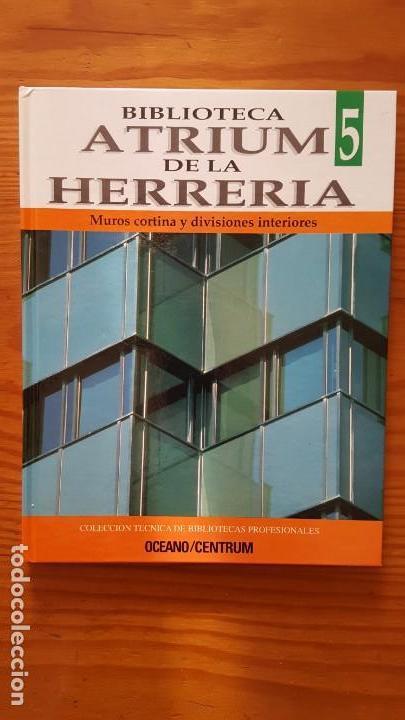 Libros de segunda mano: Biblioteca atrium de la herrería, 5 Tomos (Obra Completa). EN PERFECTO ESTADO DE CONSERVACIÓN. - Foto 4 - 141279714