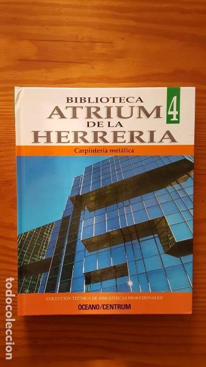 Libros de segunda mano: Biblioteca atrium de la herrería, 5 Tomos (Obra Completa). EN PERFECTO ESTADO DE CONSERVACIÓN. - Foto 5 - 141279714