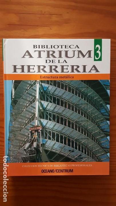 Libros de segunda mano: Biblioteca atrium de la herrería, 5 Tomos (Obra Completa). EN PERFECTO ESTADO DE CONSERVACIÓN. - Foto 6 - 141279714
