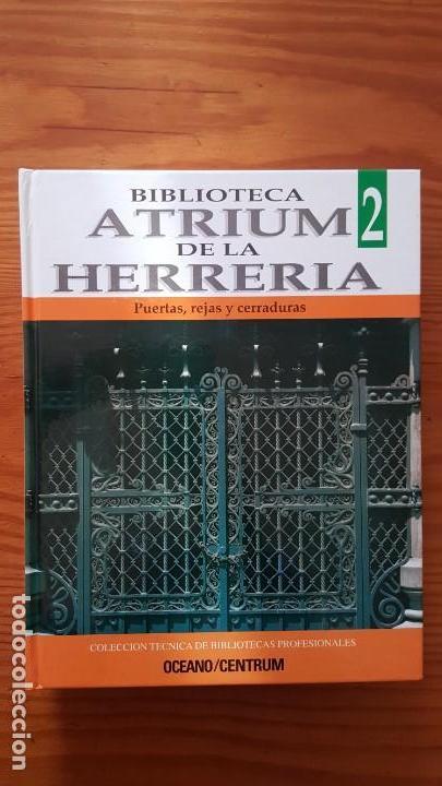 Libros de segunda mano: Biblioteca atrium de la herrería, 5 Tomos (Obra Completa). EN PERFECTO ESTADO DE CONSERVACIÓN. - Foto 7 - 141279714