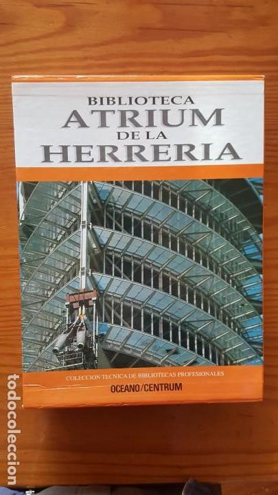 Libros de segunda mano: Biblioteca atrium de la herrería, 5 Tomos (Obra Completa). EN PERFECTO ESTADO DE CONSERVACIÓN. - Foto 2 - 141279714