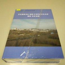 Libros de segunda mano: 1118- LIBRO TERRAS DO CONCELLOS DE LUGO MARCIAL GONZALEZ VIGO NUEVO PRECINTADO Nº 1. Lote 141325102