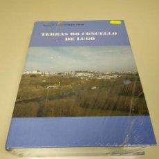 Libros de segunda mano: 1118- LIBRO TERRAS DO CONCELLOS DE LUGO MARCIAL GONZALEZ VIGO NUEVO PRECINTADO Nº 2. Lote 141325270