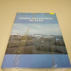 Libros de segunda mano: 1118- LIBRO TERRAS DO CONCELLOS DE LUGO MARCIAL GONZALEZ VIGO NUEVO PRECINTADO Nº 3. Lote 141325970