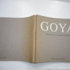 Libros de segunda mano: ALFONSO E. PÉREZ-SÁNCHEZ GOYA Y91174. Lote 141468438