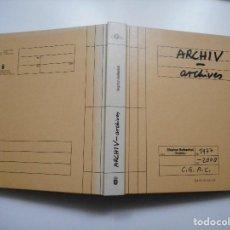 Libros de segunda mano: STEPHAN BALKENHOL ARCHIV-ARCHIVES Y91176. Lote 141468774