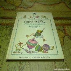 Libros de segunda mano: PINTO MARAÑA. JUEGOS POPULARES INFANTILES. TOMO II. ARTURO MEDINA. MIÑON 1ª EDICIÓN 1987.. Lote 141472190