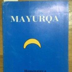 Libros de segunda mano: MAYURQA UIB, N.22, VOL.I,1989. Lote 59480927