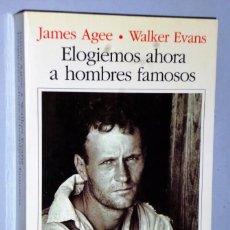 Livros em segunda mão: ELOGIEMOS AHORA A HOMBRES FAMOSOS. Lote 141494998