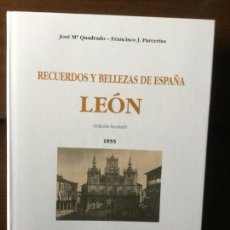 Libros de segunda mano: RECUERDOS Y BELLEZAS DE ESPAÑA: LEÓN. JOSÉ Mª QUADRADO-FCO. J. PARCERISA.. Lote 141559294