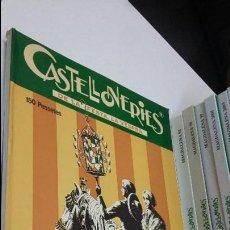 Libros de segunda mano: 12 LIBROS DE LAS FIESTAS DE LA MAGDALENA CASTELLONERIES DEL AÑO 1986 AL 2005. Lote 141587546
